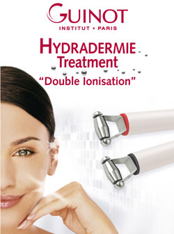"Hydradermie treatment ""Double Ionisation"""